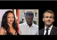Rihanna touchée par le geste d'Emmanuel Macron envers Mamadou Gassama