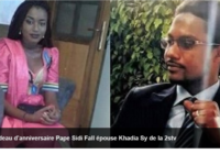 Al Khayri Pape Sidy Fall s'est marié avec sa collègue Khaadia Sy de la 2Stv
