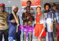 Images:la visite de Madame Ségolène Royale à la Maison des Cultures Urbains de Dakar